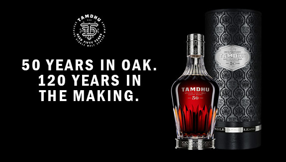 礦世鉅作  坦杜50年威士忌原酒隆重登台